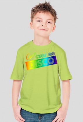 Koszulka - Chłopiec - Tęczowa