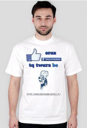 Koszulka t-shirt męska Like chumor