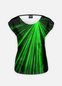 T-SHIRT SPICY GREEN LASERS