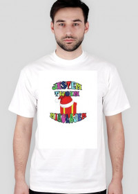 Koszulka JESTEM TWOIM MIKOŁAJEM wzór EM401