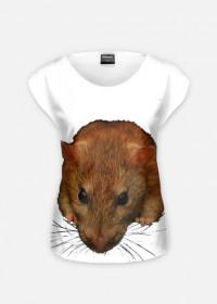 Koszulka Damska szczurek