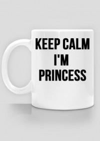 Keep Calm I'm Princess - kubek