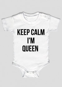 Keep Calm I'm Queen - body