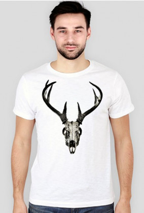 Slim T-shirt - deer skull vol. 4
