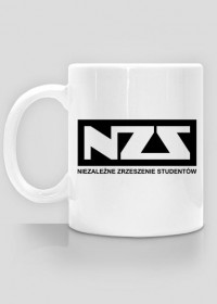 Kubek NZS - biały
