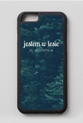 """Etui na iPhone 6/6s """"jestem w lesie"""""""