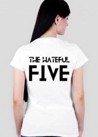 Hateful 5 blk wmn vneck
