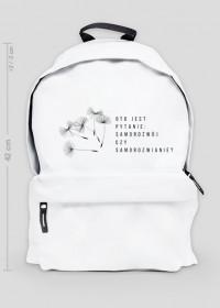 """Duży plecak """"Samorozwianie"""""""