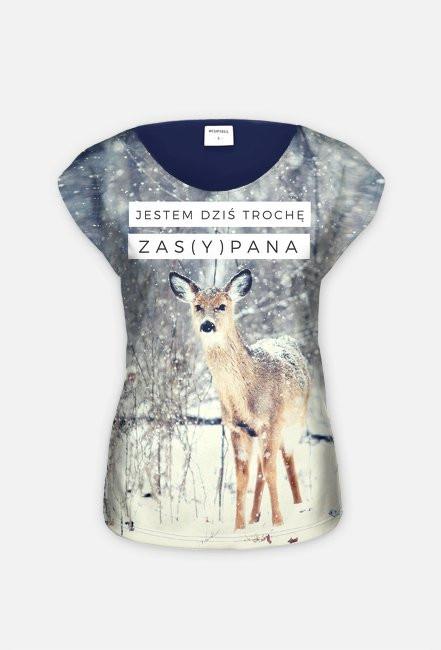 "Koszulka typu full print ""Zasypana"""