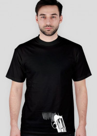 T-shirt Rewolwer