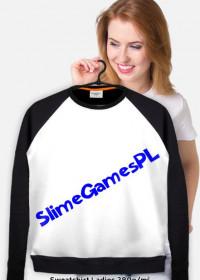 Bluza SlimeGamesPL z Niebieską Nazwą
