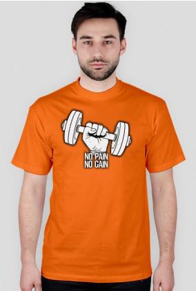 Koszulka NO PAIN NO GAIN.
