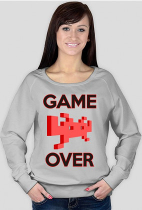 FrikSzop Bluza damska Game Over
