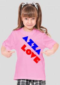 Koszulka dziewczęca dla dzieci 7-9 lat