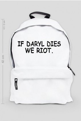IF DARYL DIES WE RIOT. THE WALKING DEAD