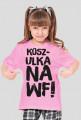 Koszulka na WF dziewczęca
