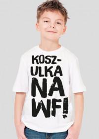 Koszulka na WF chłopięca