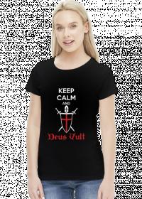 Deus Vult  - koszulka damska (women's t-shirt)