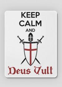 Deus Vult  - podkładka pod myszkę (mouse pad)