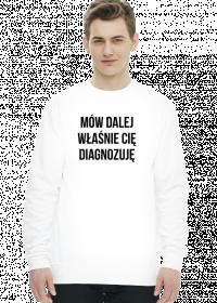 DIAGNOZA - bluza męska