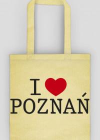 I Love Poznań Torba