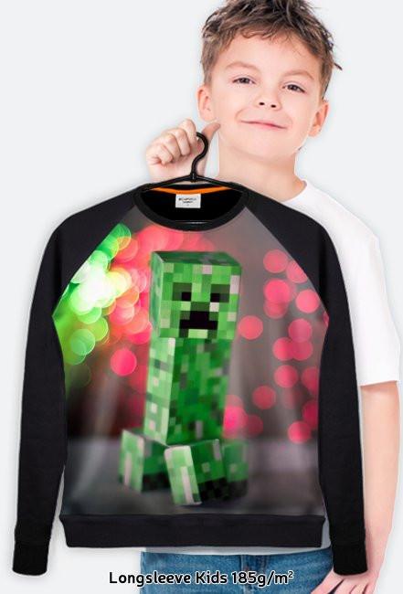 Bluza dziecięca fullprint Minecraft