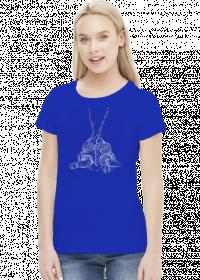 T-shirt damski Pszczoła GMO