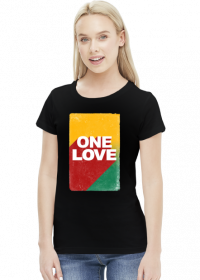 One love koszulka damska