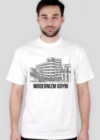 """T-shirt biały """"Modernizm Gdyni'"""