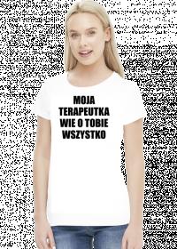 MOJA TERAPEUTKA - koszulka damska