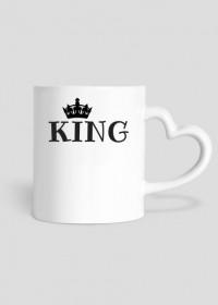 Kubek Walentynki King