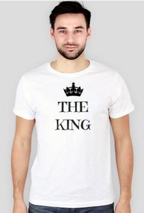 T-shirt Męski Walentynki The King