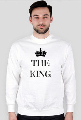 Bluza The King Męska Walentynki
