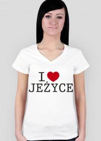 I Love Jeżyce Koszulka dla Pań