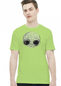 T-shirt męski Alien