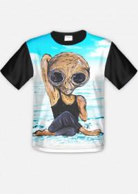 T-shirt męski Alien Joga 2