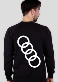 "Bluza bez kaptura ""Audi"" duże logo"