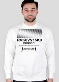 """""""RVK0VV15K0"""" CREWNECK White"""