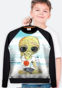 Bluza dziecięca Joga asana 3