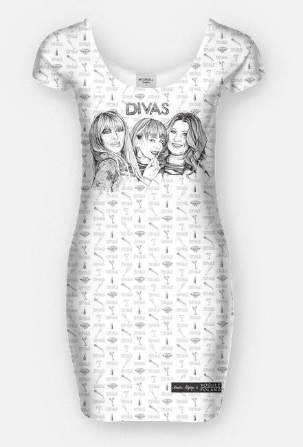 Divas / Maryla Rodowicz, Izabela Trojanowska, Beata Kozidrak / sukienka
