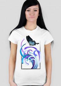 Motyl - koszulka damska