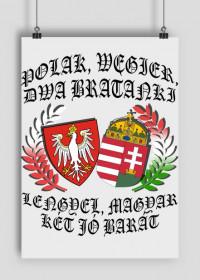 Polak, Węgier / Lengyel, magyar - plakat (poster)