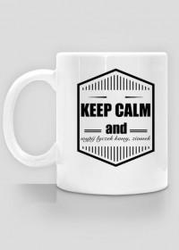 keep calm and wypij łyczek kawy ziomek