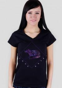 Galaxy Rat T-shirt Women