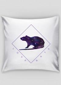 Galaxy Rat Pillow