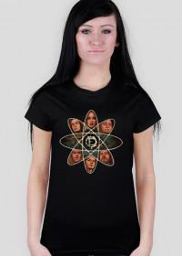 T-shirt damski The Pixel Enigma