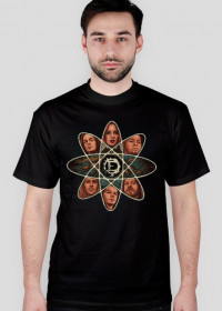 T-shirt męski The Pixel Enigma