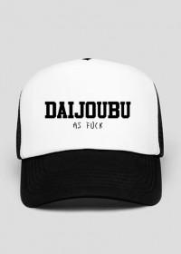"""Czapka z daszkiem - """"Daijoubu as fuck"""""""