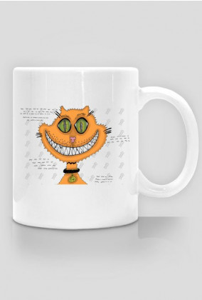 PROMOCJA! Śmiejący się kot! Grin cat! Kubek