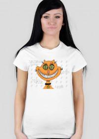 PROMOCJA! Śmiejący się kot! Grin cat! Koszulka